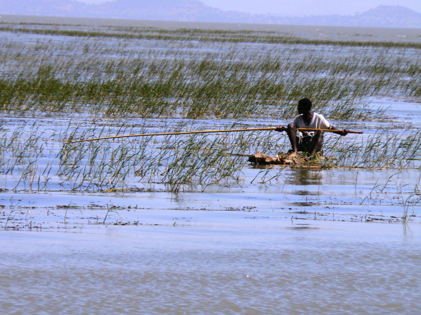 Fisherman on Ziway Lake, Ethiopia. Image courtesy of maailmajapaikat